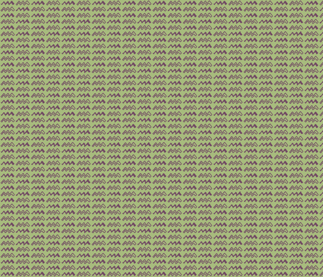 ZigZag, Green fabric by wiccked on Spoonflower - custom fabric
