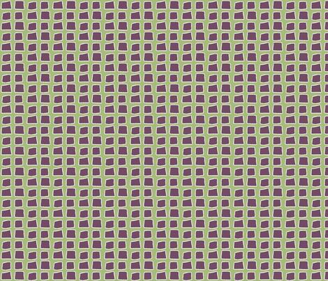 Blocks, green fabric by wiccked on Spoonflower - custom fabric