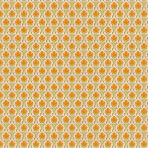 orange retro wallpaper