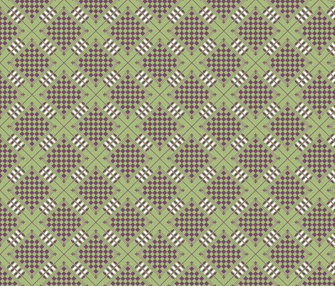 Checker Board fabric by engravogirl on Spoonflower - custom fabric