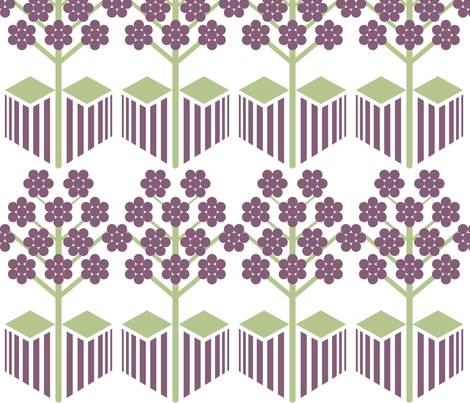 Plum_Orchard fabric by niceandfancy on Spoonflower - custom fabric
