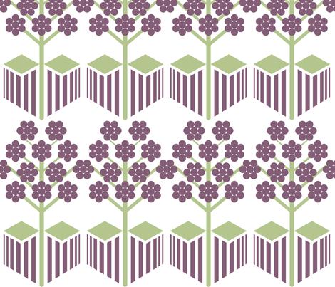 Plum_Orchard fabric by niceandfancy on Spoonflower - custom fabric