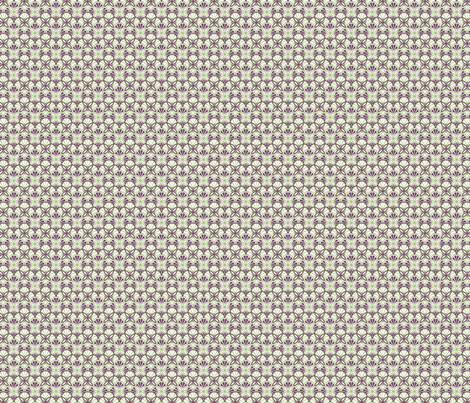 Geometric floral fabric by patternhillstudio on Spoonflower - custom fabric