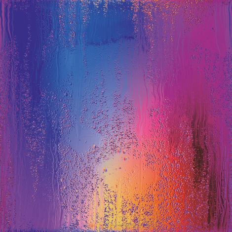 Rainbow Rain 2 fabric by animotaxis on Spoonflower - custom fabric