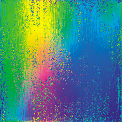 Rainbow Rain 3 fabric by animotaxis on Spoonflower - custom fabric