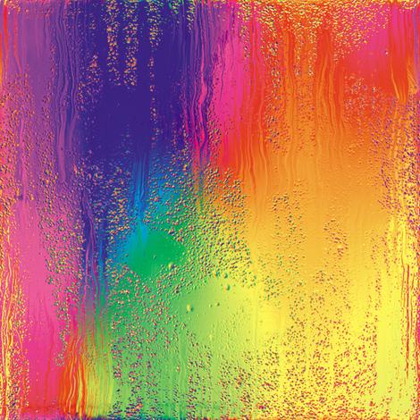 Rainbow Rain 4 fabric by animotaxis on Spoonflower - custom fabric