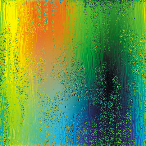 Rainbow Rain 5 fabric by animotaxis on Spoonflower - custom fabric