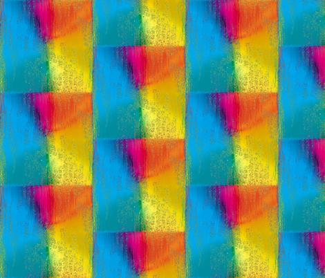 Rainbow Rain 8 fabric by animotaxis on Spoonflower - custom fabric