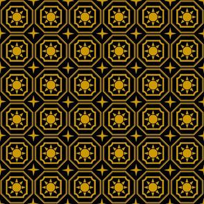 Eliz_star_gold_on_black