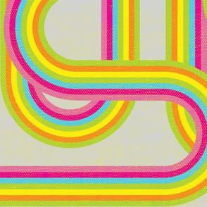 Geo-Rainbow - Retro