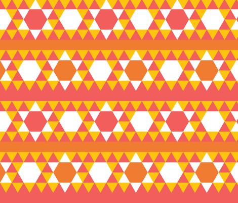 geometric2alt-color1 fabric by owlandchickadee on Spoonflower - custom fabric