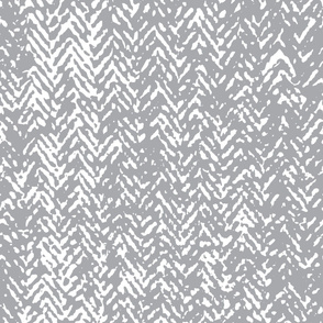 Herringbone - Light Grey