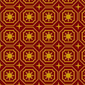 Eliz_star_gold_on_red