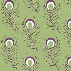 Peacock Dots