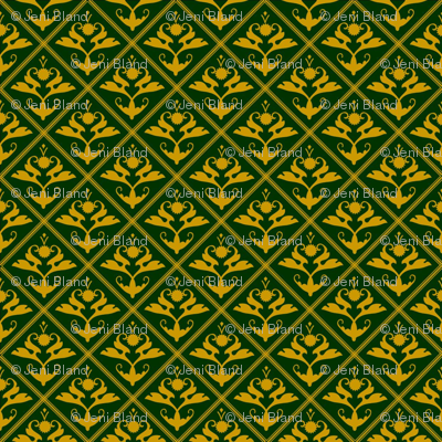 Tudor_diamond_gold_on_green
