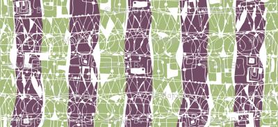 Doodled Doubled Stripes
