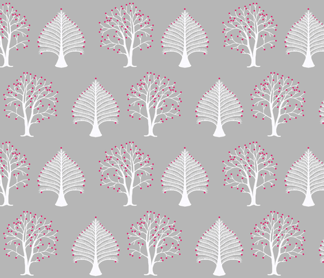 winter_trees fabric by lfntextiles on Spoonflower - custom fabric