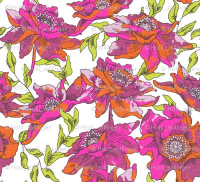 bohèmian fleurs