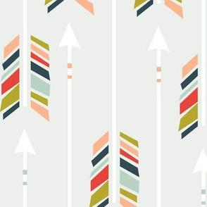 Large Arrows: Preppy