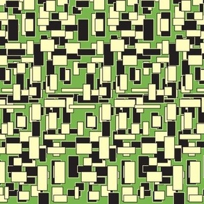 The One With All The Squares Green