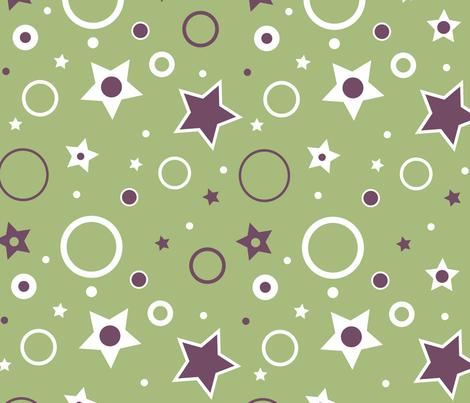 Geometric Big_Top fabric by autumnvdesigns on Spoonflower - custom fabric