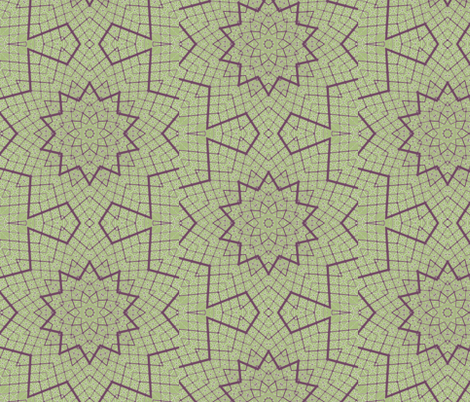 Matrix Star 1 fabric by dovetail_designs on Spoonflower - custom fabric