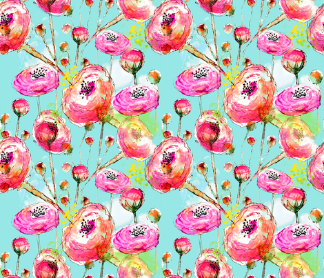Sunkissed  fabric by sara_berrenson on Spoonflower - custom fabric