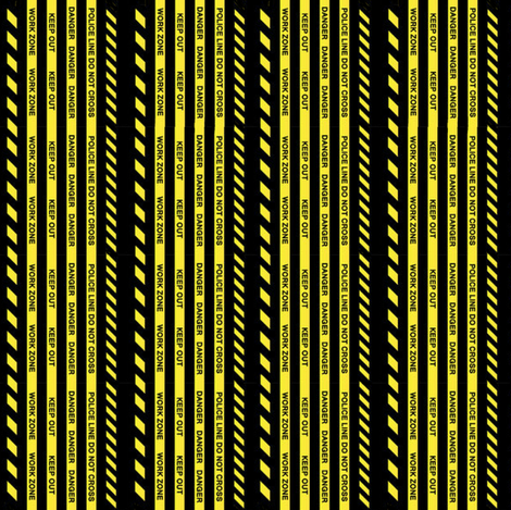 Do Not Cross fabric by whimzwhirled on Spoonflower - custom fabric