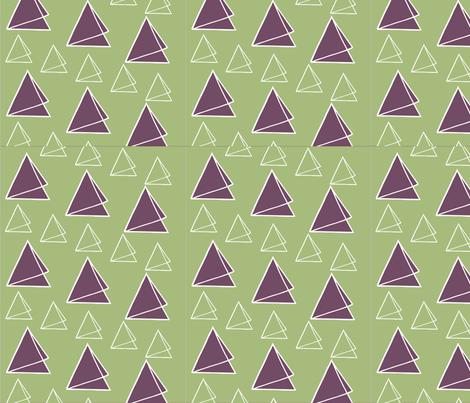 Triangle_triumph_lg fabric by annabd on Spoonflower - custom fabric