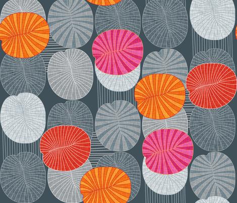 Dickinsonia Rex fabric by spellstone on Spoonflower - custom fabric