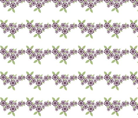 Polka Dot Daisy Wave fabric by sage_quinn on Spoonflower - custom fabric