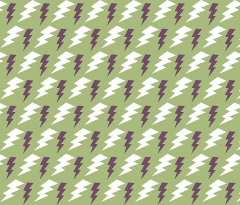 CYCLONE BOLTS fabric by bluevelvet on Spoonflower - custom fabric