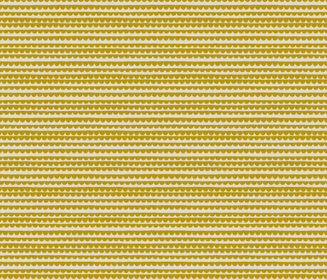 SALLY_MUSTARD fabric by glorydaze on Spoonflower - custom fabric