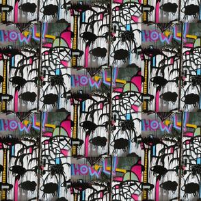 Howl Sheep Graffiti