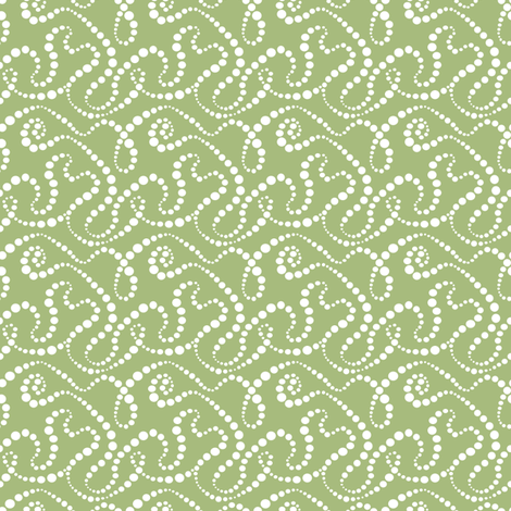 Smoke Over Grass_small fabric by tallulahdahling on Spoonflower - custom fabric