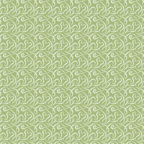 Smoke Over Grass_tiny fabric by tallulahdahling on Spoonflower - custom fabric
