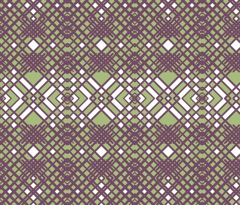Geometric Lines fabric by nezumiworld on Spoonflower - custom fabric