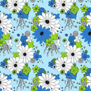 Blossom Festival Blue