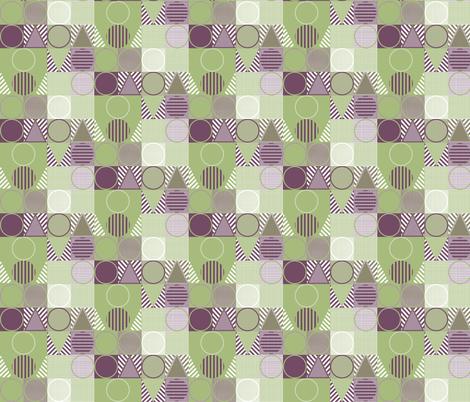 Geometric Design 2 fabric by maplewooddesignstudio on Spoonflower - custom fabric