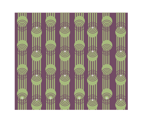 poker dots art deco fabric by isawhitt on Spoonflower - custom fabric