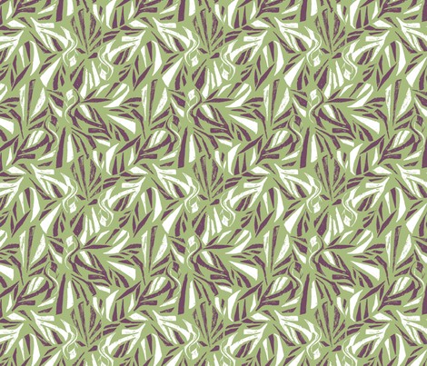 FLAMINGO_LAWN fabric by pattern_state on Spoonflower - custom fabric