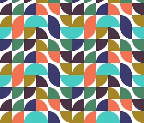 mod geometry  fabric by ravynka on Spoonflower - custom fabric