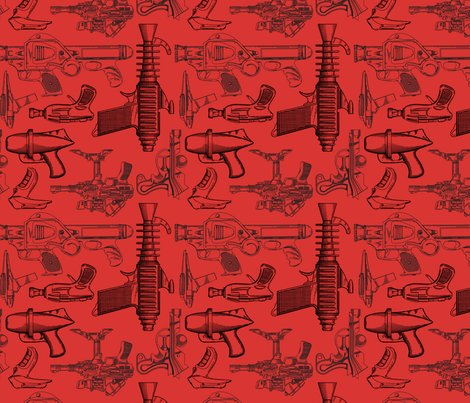 Rspoonflower39-_ray_guns_-_red_shop_preview