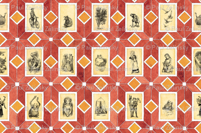 Five Children and It endpapers