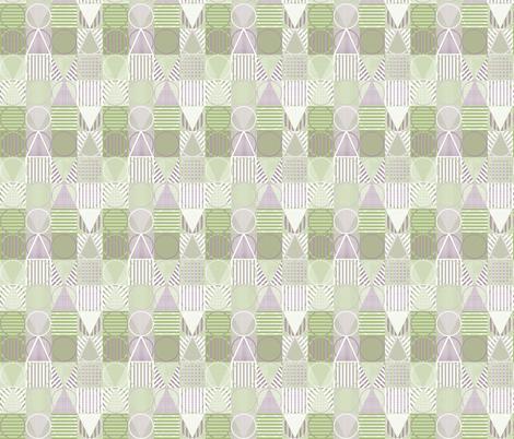 geometric design fabric by maplewooddesignstudio on Spoonflower - custom fabric