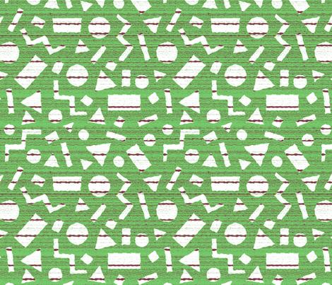 Geometric and horizontal fabric by lucybaribeau on Spoonflower - custom fabric