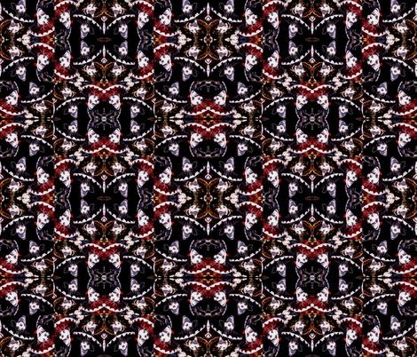 DAY OF THE DEAD FIESTA fabric by bluevelvet on Spoonflower - custom fabric