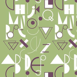 geometric abecedarian - lisaekström