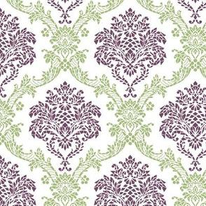 mosaic geometric damask