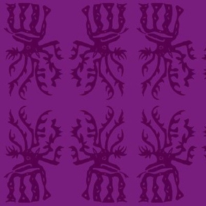 elk in purple-ch